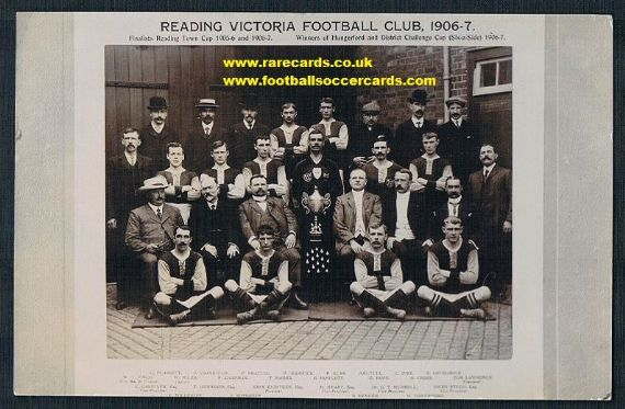 1910s postcard of 1906  Reading  Victoria